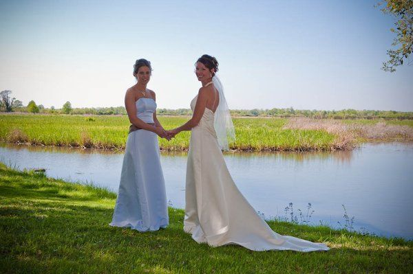 Southern Plantation Wedding - marsh view