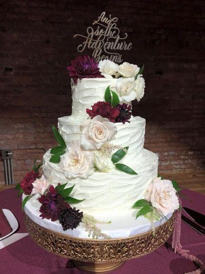 Romantic looking cake