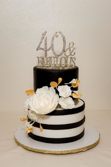 Floral themes cake