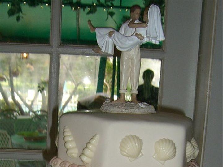 Tmx 1389744540814 Beach Weddin Tampa, FL wedding cake