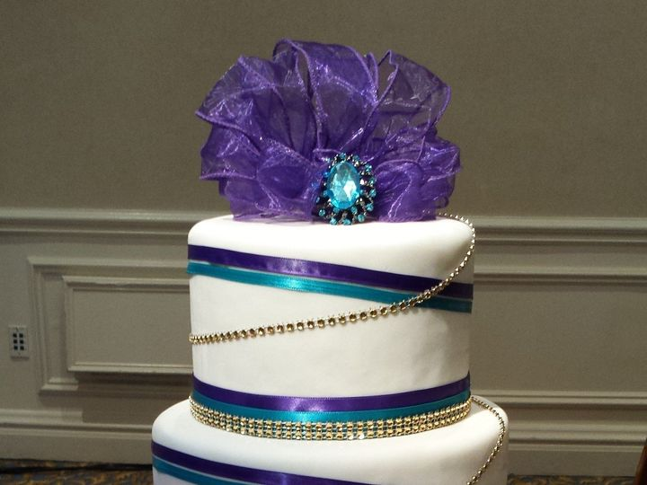 Tmx 1405374367147 049 Tampa, FL wedding cake
