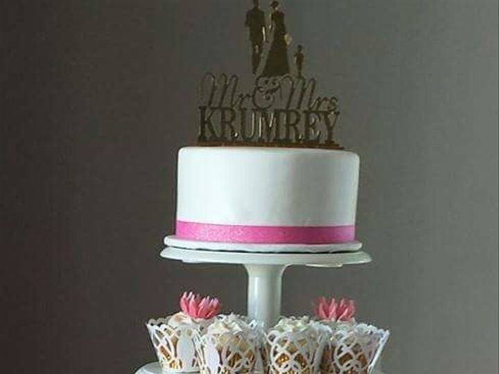 Tmx 1517312666 E9670380d8676f4a 1517312665 6dc7f66f4648d0e7 1517312665568 1 FB IMG 14636171473 Tampa, FL wedding cake