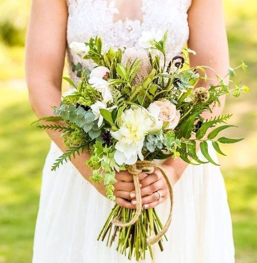 Organic Tailored Bouquet