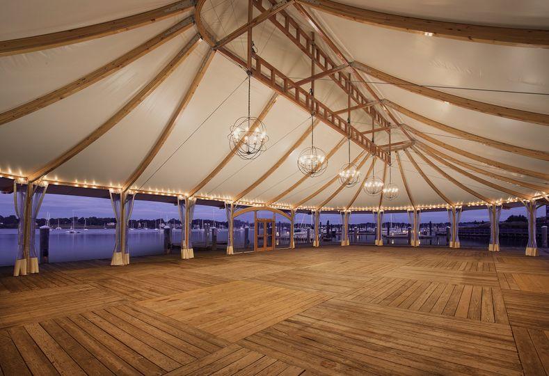 Bristol pavilion interior