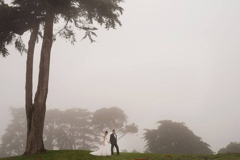 San Francisco wedding at the Olympic Club Lakeside