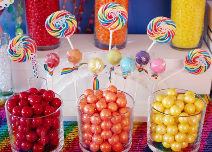 This is an example of the variety of candy we provide and could provide you for a candy buffet at...