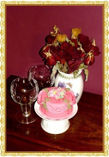 tea cup cake 1 border use