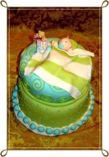 baby cake border