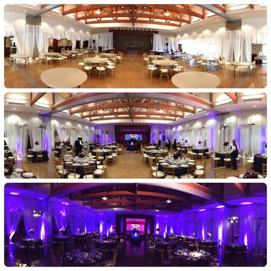Lighting Set-up In PROCESS....   Newport Beach Senior Center  * Ambient Lighting * Intelligent...