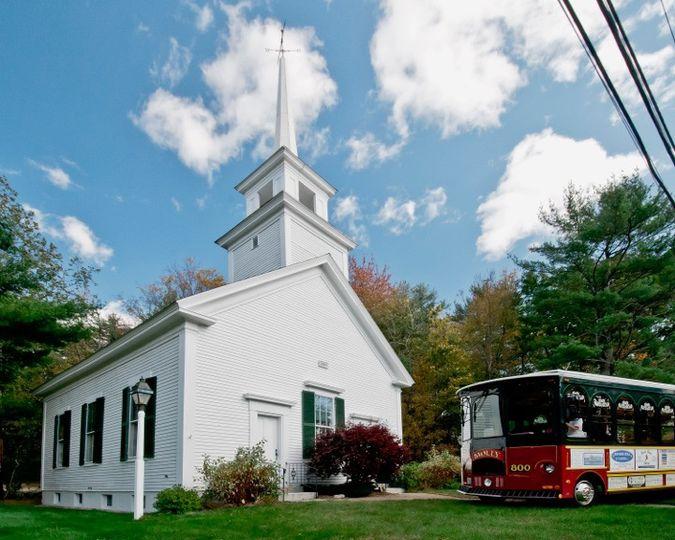 Mirror Lake Church, NH