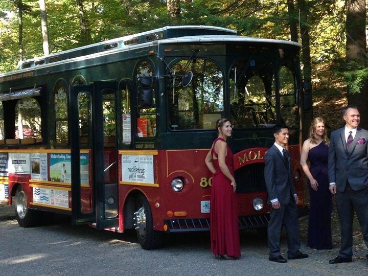 Tmx Castle Wedding 10 16 51 418530 157911323166900 Wolfeboro, NH wedding transportation