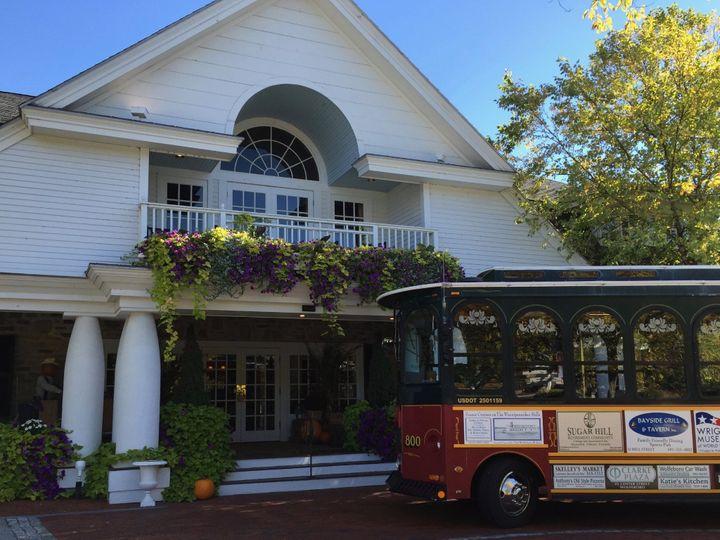 Tmx Church Landing Trolley 51 418530 157911322815537 Wolfeboro, NH wedding transportation
