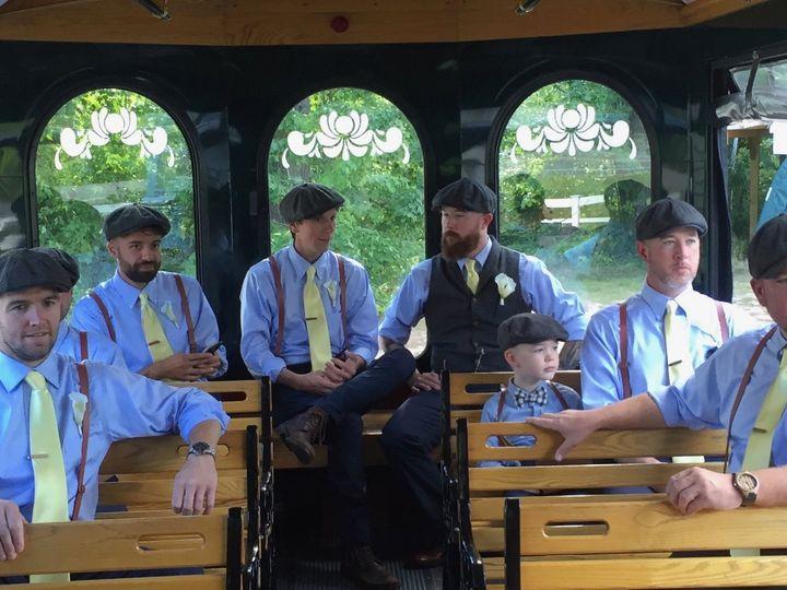 Tmx Trolley Groomsmen 51 418530 157911317195078 Wolfeboro, NH wedding transportation