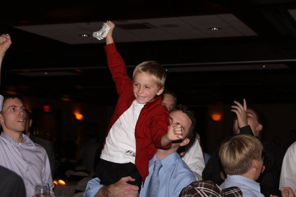 Kid at the reception