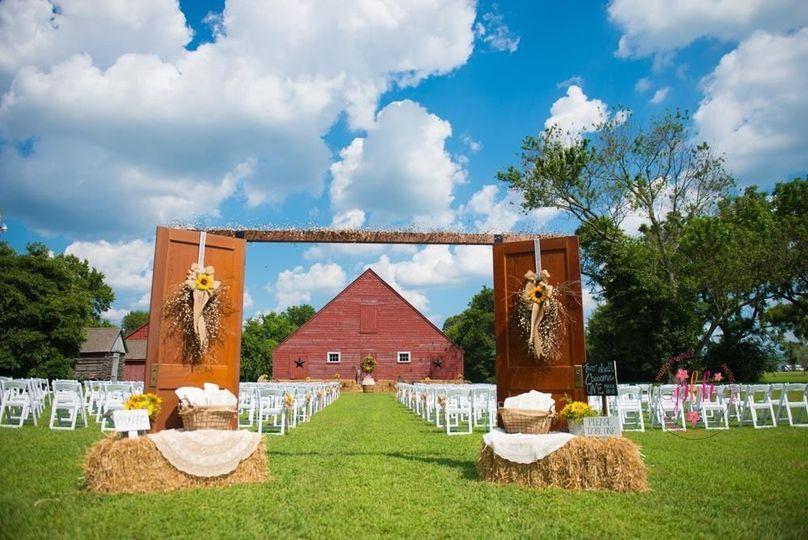 Granary Outdoor Wedding Site