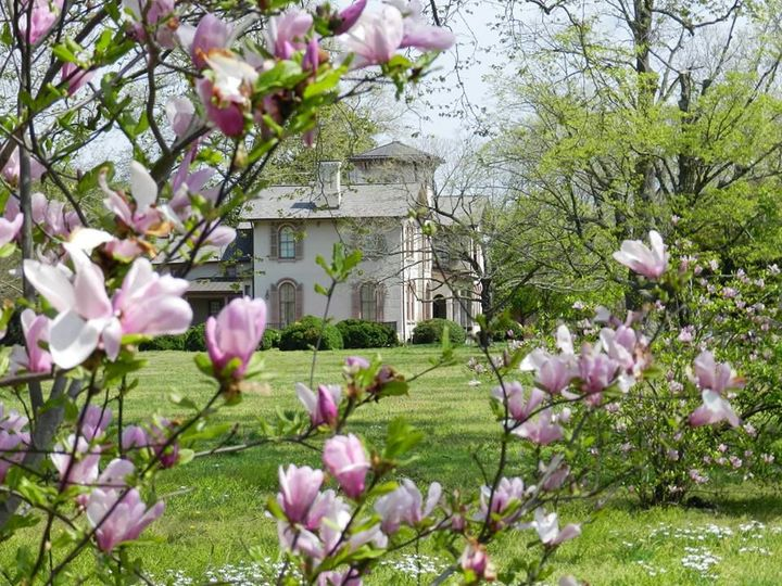 Spring at Ross Mansion