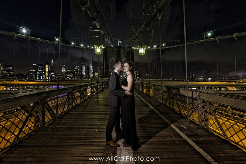 NYC Brooklyn Bridge Engagement