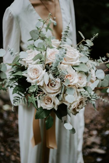 f314b542c1fb0b58 Blush rose bridal bouquet Tillmaook Rockaway beach Netarts