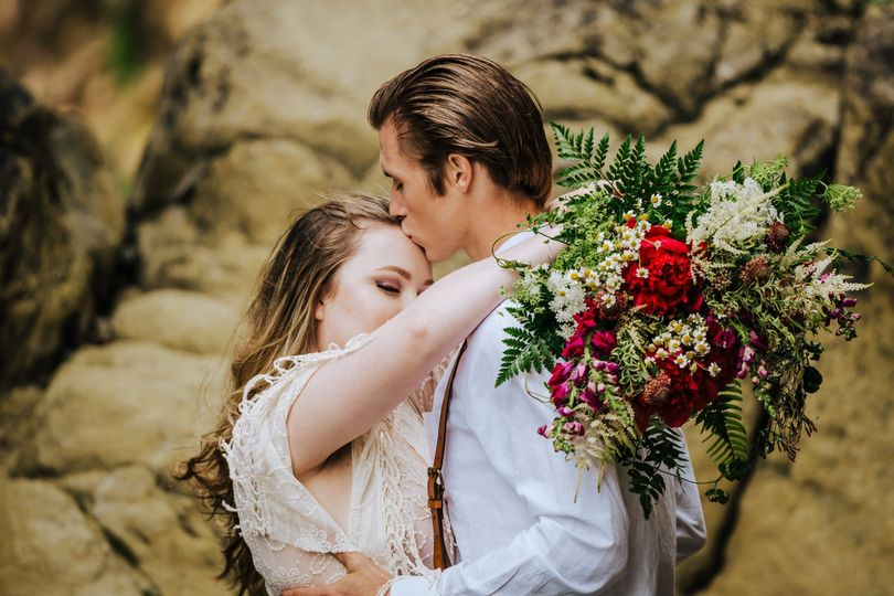 Wildflower bridal