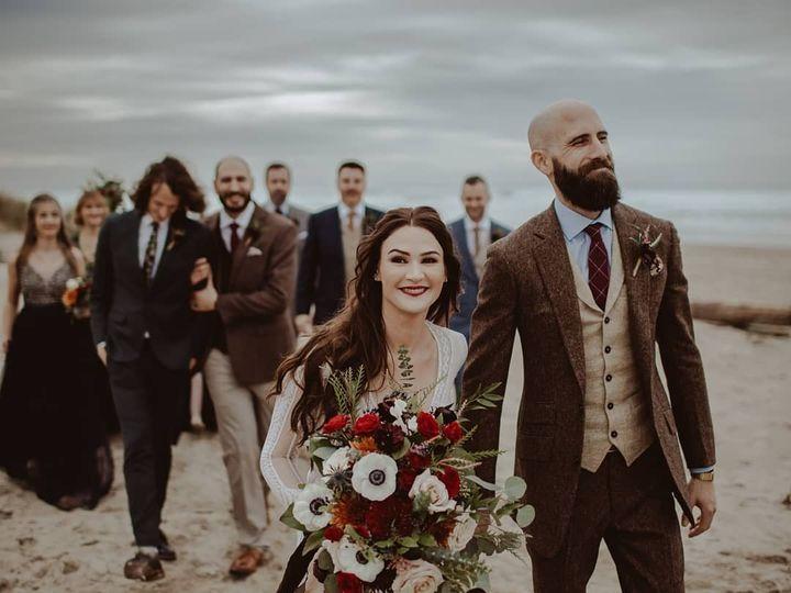 Tmx Fall Classic Beach Wedding 51 150630 157870392445436 Tillamook wedding florist