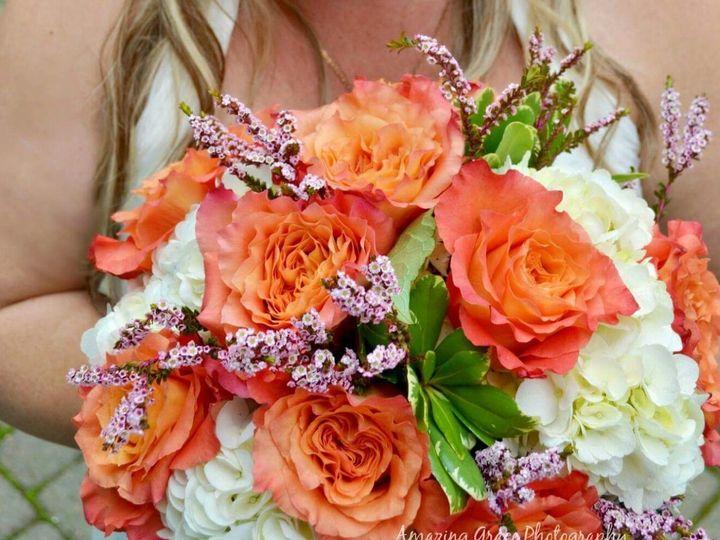 Tmx Orange Free Spirit Rose And White Hydrangea 51 150630 Tillamook wedding florist