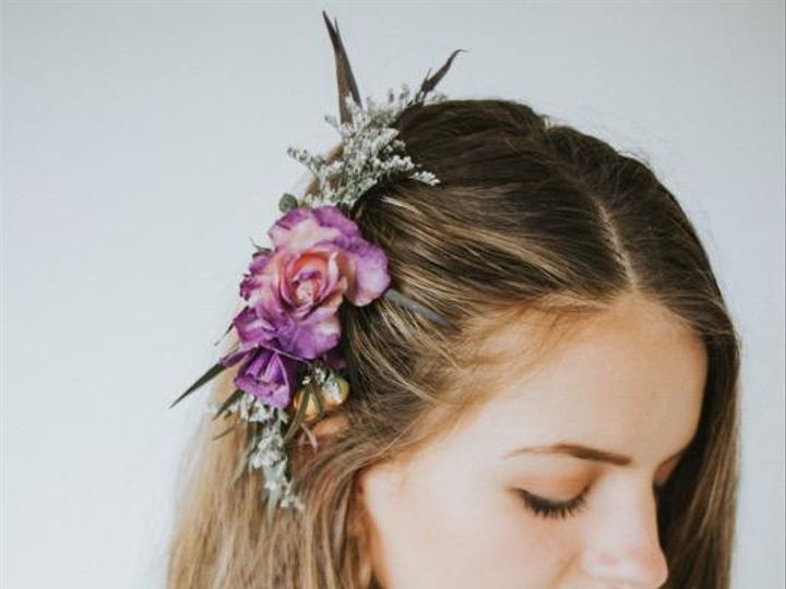 Tmx Purple Hair Piece 51 150630 Tillamook wedding florist