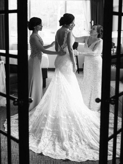 The Royal Regency Bridal room