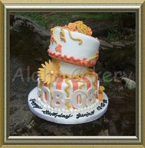 Phenomenal Aloha Cakery Llc Wedding Cake Honolulu Hi Weddingwire Funny Birthday Cards Online Elaedamsfinfo
