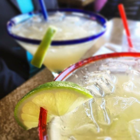 close up margarita