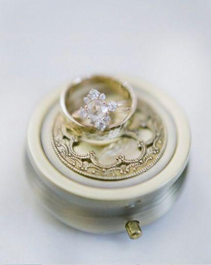 Stephanie + AIgar rings