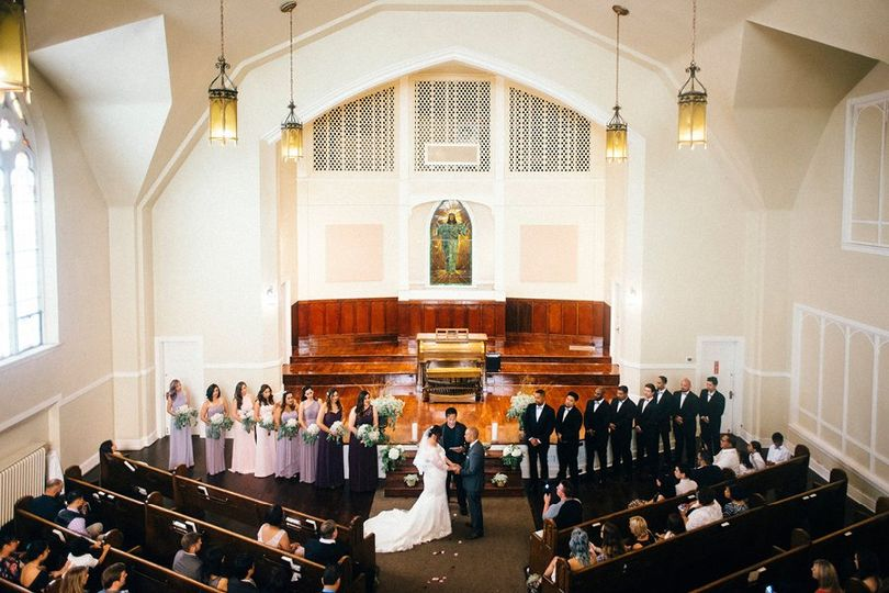 Marry in the stunning chapel
