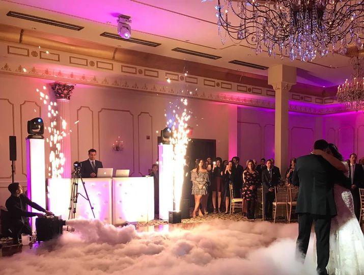Indoor Sparkle Fountain Show