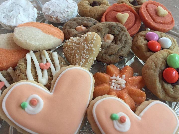 Coral Theme Dessert Mix We Love being Creative!