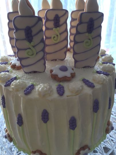 Wedding & Birthday Celebration w/ wonderfully tasty Almond Frosting