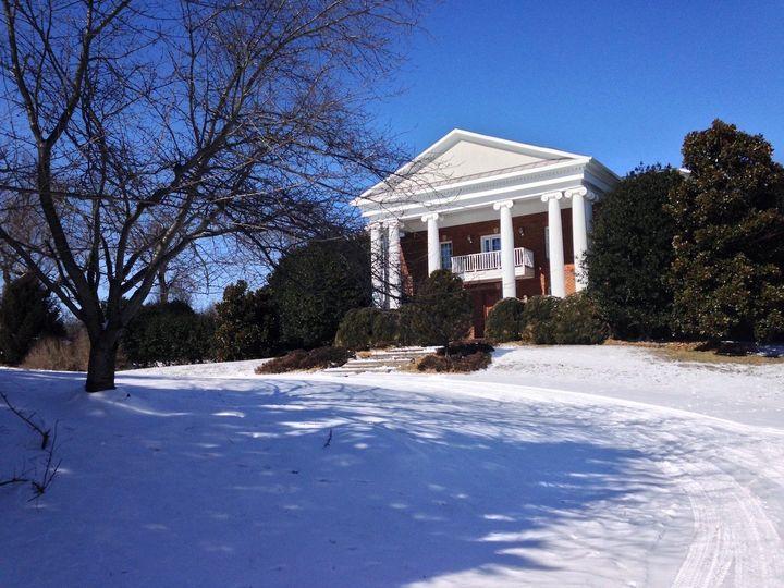 facade with snow 2
