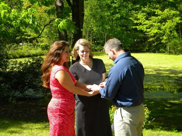 Scenic ceremony - Beverly Sullivant Ceremonies