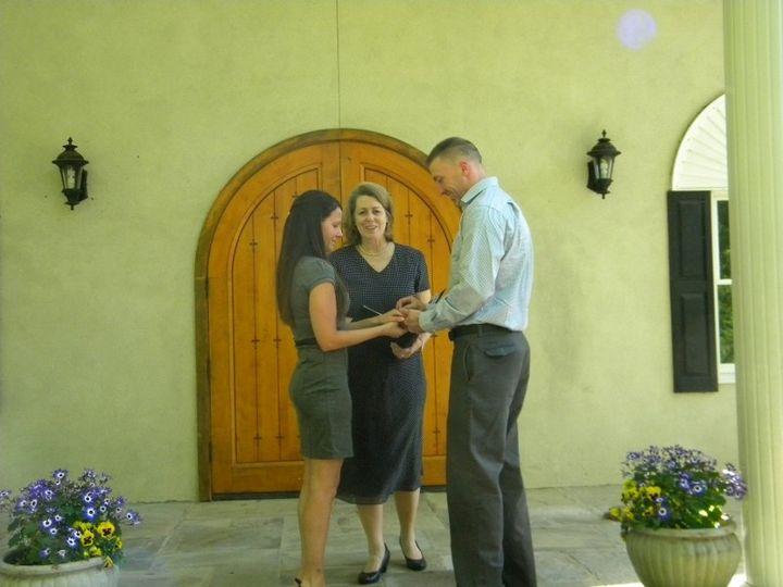 An intimate elopment
