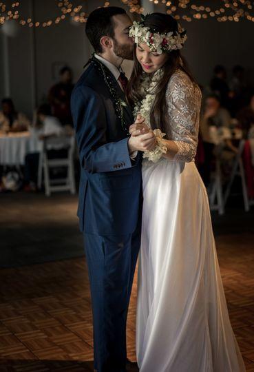 hawaiian wedding first dance photo