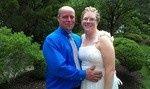 The Kurtz's  wedding.   They had such a wonderful day for a backyard wedding...