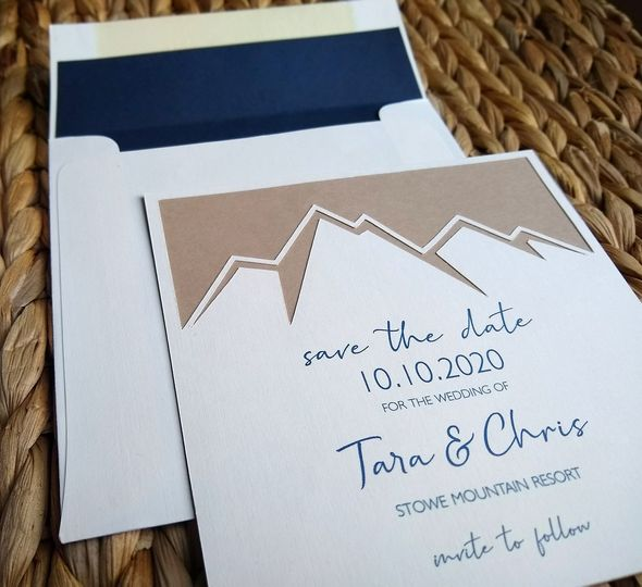 Mountain save the date
