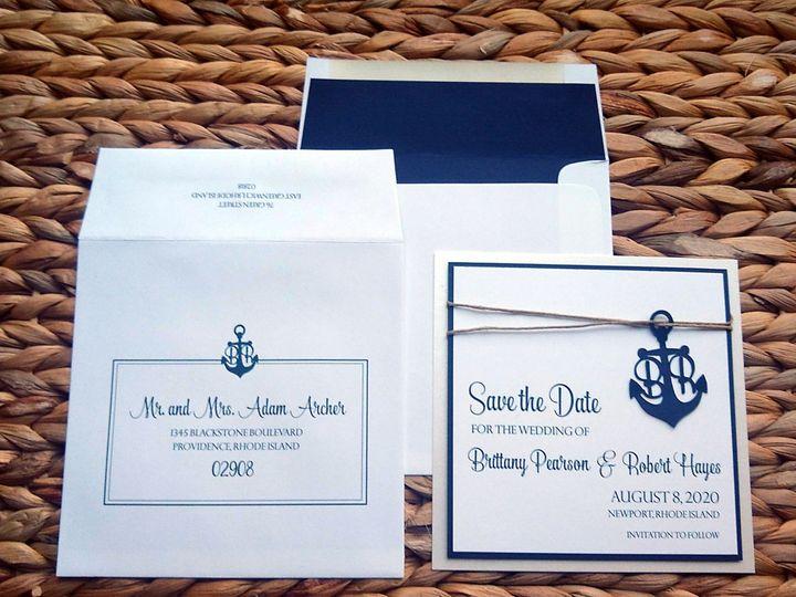 Tmx  Anch 2 51 107630 1571504512 Rumford, RI wedding invitation