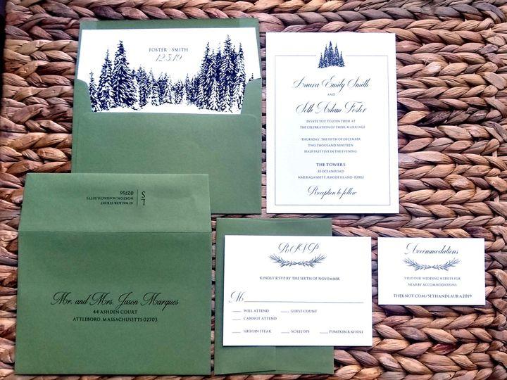 Tmx  Foster 51 107630 157867411421111 Rumford, RI wedding invitation