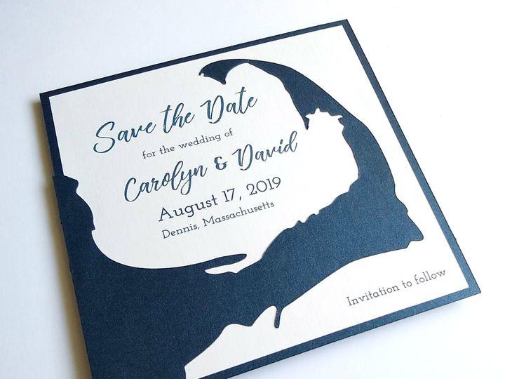 Tmx Img 20190319 122302769 51 107630 1570809980 Rumford, RI wedding invitation