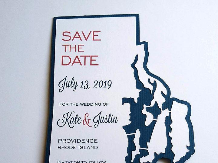 Tmx Img 20190319 123213518 51 107630 1570809851 Rumford, RI wedding invitation
