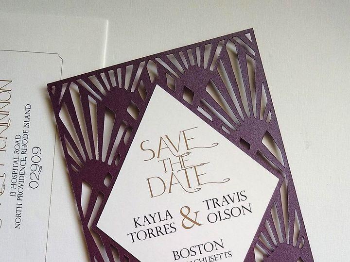 Tmx Img 20190319 123755173 51 107630 1570809852 Rumford, RI wedding invitation