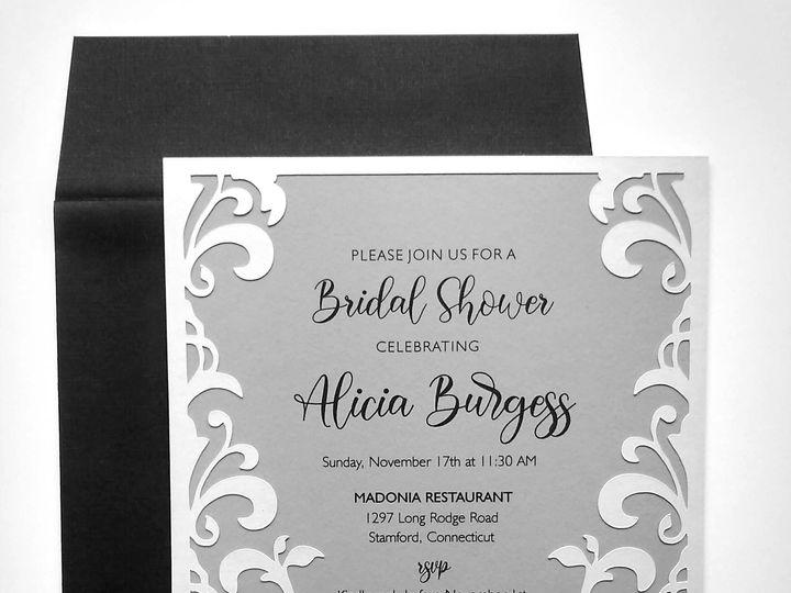 Tmx Silver Swirl Bridal Shower 3 51 107630 158777993172334 Rumford, RI wedding invitation