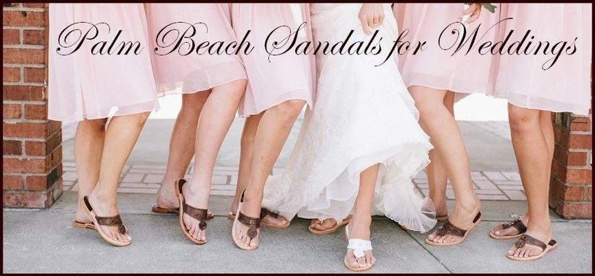 palm beach sandals weddings