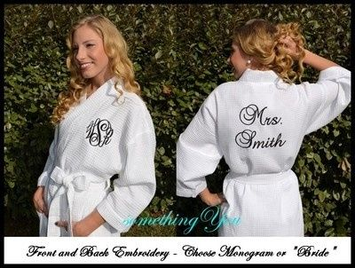 Tmx 1427423135381 Monogrammed Front And Back Robe.1280.1280 Fuquay Varina wedding favor