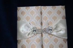 Louise Custom Persian Wedding Invitation Cards