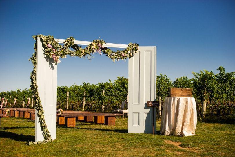 Ryan Designs Vintage Ceremony Doors
